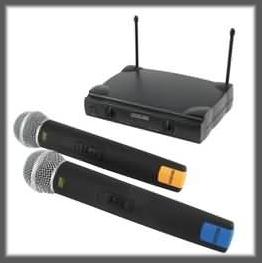 Bezdrátové mikrofony KN-MICW610