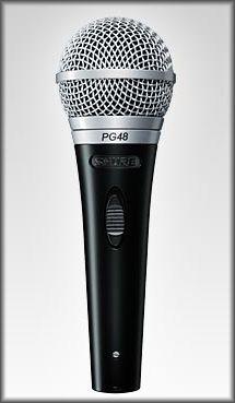 Mikrofon Shure PG 48 QTR (jack)