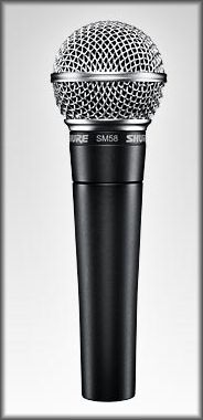 Mikrofon Shure SM58-SE