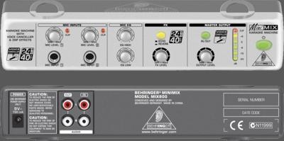 karaoke MiniMIX MIX800