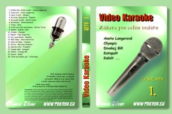 Svět karaoke - České hity 1. - DVD