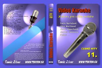 Svět karaoke - České hity 11. - DVD