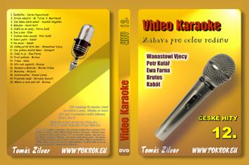 Svět karaoke - České hity 12. - DVD
