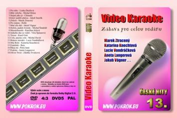 Svět karaoke - České hity 13. - DVD