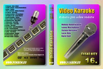 Svět karaoke - České hity 16. - DVD