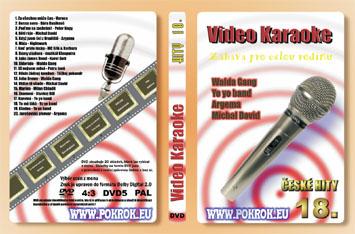 Svět karaoke - České hity 18. - DVD