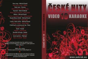 Svět karaoke - České hity 19. - DVD