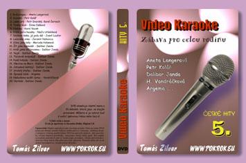 Svět karaoke - České hity 5. - DVD