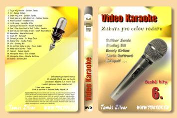 Svět karaoke - České hity 6. - DVD