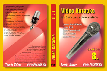 Svět karaoke - České hity 8. - DVD