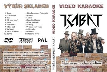 Svět karaoke - Kabát - DVD