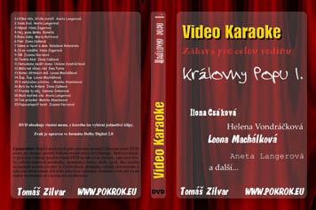 Svět karaoke - Královny Popu 1. - DVD