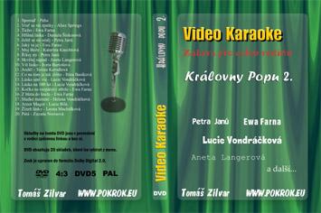 Svět karaoke - Královny Popu 2. - DVD