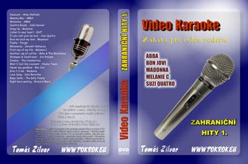 Svět karaoke - Zahraniční hity 1. - DVD