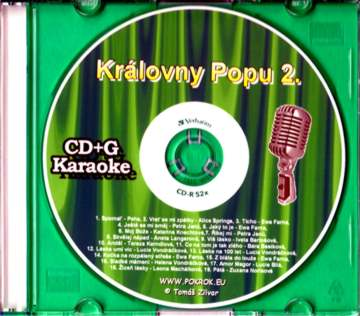 Svět karaoke - Královny Popu 2. - CDG s ML