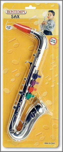 Bontempi Saxofon stříbrný